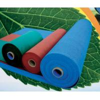 China Flame retardant EPDM Rubber Sheet , Blue / Green for Gym Tiles on sale