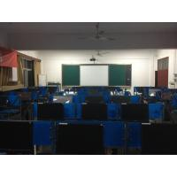 Multi-Media Classroom E Learning Classroom With 85 Inch Mobile Interactive Whiteboard Manufactures