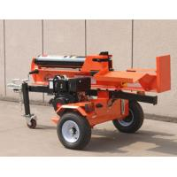 China Fluid Pressure Woods Log Splitter 42T Gasoline Engine Electric Start With Recoil on sale