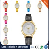 Wholesale Plastic watch band  Alloy Round Case Ladies Quartz Watches fashion watch Multicolor watches Manufactures