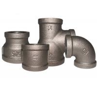 China En 10242 Malleable Iron Pipe Fittings 1/2 Inch Square Head Code 1.6Mpa Working Pressure on sale