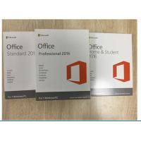Multi Language Software Key Code / Office 2016 Professional Retail Version Manufactures