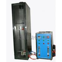 Quality Wire Cable Fire Testing Machine , Vertical Flame Test Chamber Fiber Cable for sale