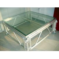 Transparent Plexiglass Stage,auditorium glass stage for Wedding and Swimming Pool Manufactures