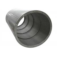 Stainless Steel 316 Johnson Wedge Wire Screens for Waste Water Treatment Manufactures
