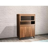 Quality 2017 New walnut wood Bespoke Furniture Storage Cabinet Display Shelves with for sale