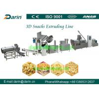 Full automatic Fried 3D Papad pellet Snacks food extruder machine production line Manufactures