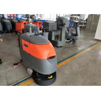 Small Square Brick Floor Cleaning Machines Commercial Floor Scrubber Manufactures