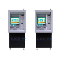 Through - Wall Payment Terminal Kiosk With Check Cashing ATM Machines Manufactures