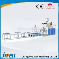 Jwell UPVC/PVC-C Solid Wall Pipe Plastic Extruder for Sale Manufactures
