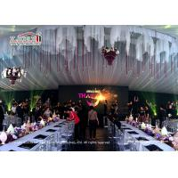 luxury wedding tents 20*50m with Pvc cover and aluminum frame for sale Manufactures