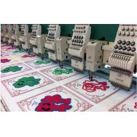 Towel Mixed Flat + Chenille Computerized Embroidery Machine , 18 Head Manufactures