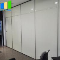 China Commercial Folding Room Divider Acoustic Partition Wall Sliding Door Partition Philippines on sale