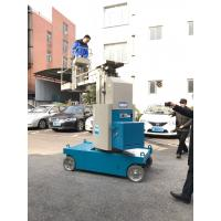 China 360 Degree Rotation Self Propelled Aerial Lift 7.5m Mast Type Boom Lift on sale