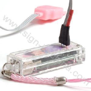 China Mobile Phone Flashing Straps --LED Flashing Mobile Phone Novelty (602R-3) on sale