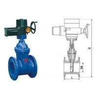 RVEX electric resilient seated gate power station valve grey cast iron 50 - 400mm Manufactures