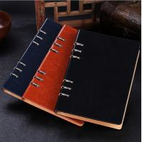 Business gift - Manufacture loose-leaf notebooks 6 ring binder leather agenda LN-005 Manufactures