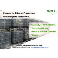High Enzyme Activity Glucoamylase Enzyme Lower Processing Cost For Ethanol Manufactures