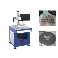 China Stainless Steel Tags Fiber Laser Marking Machine 100000 Hours Laser Lifespan on sale