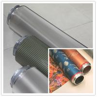 Fabric Nickel Screen Accurate Textile Rotary Screen Printing 195M Manufactures
