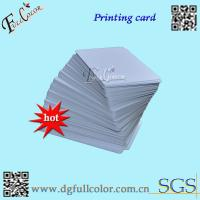 Custom Office Print PVC ID Card Blank PVC Cards  86 * 54  Inkjet Printable PVC Card With Free Sample Manufactures