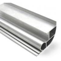 Silvery Anodized  6061 Aluminum Profile Aluminum Extrusion Profile With Drilling / Cutting Manufactures