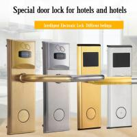Smart IC Card Induction Door Lock Hotel / Rental Room / Apartment Use Manufactures
