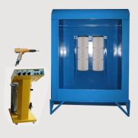 Small Powder Coating Booth With Curing Oven And Powder Coating Gun Manufactures