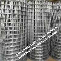 Buy cheap 2 X 2 Galvanized Welded Wire Mesh Rolls Anti - Corrosion For Garden Decorative from wholesalers