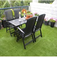 Synthetic Interlocking Landscaping For Garden Decoration Green Grass Free Sample Manufactures