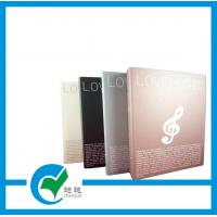 3 FC Gloss Lamination Ring Binder File Folder with Offset Printing, Rolling Printing Manufactures