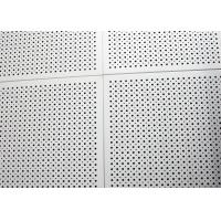 China Fireproof Colored Perforated Aluminum Ceiling Panels , Commercial Drop Ceiling Tiles 600 x 1200 on sale