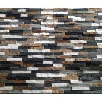 China Multicolor Natural Stone Wall Panel,Real Thin Stone Veneer,Indoor/Outdoor Stacked Stone Cladding on sale