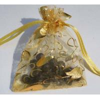 China Christmas organza gift bag/ wedding gift bag on sale