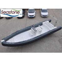 28 Foot Bottom Inflatable Boats Stainless Steel Protection 35 Knots Speed Manufactures