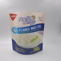 China Stand up reusable microwavable Mylar Printed Plastic Bags For Food Packaging With Custom Logo on sale