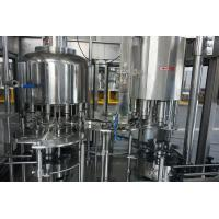 Olive Oil / Lube Oil Filling Machine for PET / Glass Bottle or Can , Rotary Type Manufactures