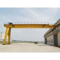 China 50 T Electric Semi Gantry Crane , Goliath Gantry Cranes For Cement Factory on sale
