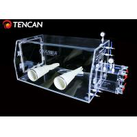 Quality Laboratory Transparent Glove Box Water and Oxygen Removal 30mm Thickness for sale