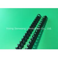 Spirals Black Plastic Binding Combs 10mm 26 Rings Make Sheets Lie Flat Manufactures