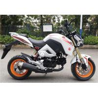 China White Street Road Motorcycle 4 Stroke Gasoline Engine Chain Transmission on sale