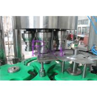 Touch Rotary Juice Filling Machine 18 Heads 4.5KW Stainless Steel Manufactures