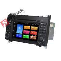 Built In Radio Tuner Isudar Mercedes Benz Car DVD Player For B200 Heat Dissipation Manufactures