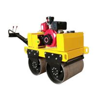 ZM-50C Gasoline Hand Push Hydraulic Dual Wheel Drum Road Roller Manufactures