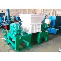 China PC Auto Control Commercial Tire Shredder / Tire Crushing Equipment CE Certificated on sale