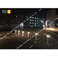 China Adhesive Strip Pneumatic Bollards 304 Stainless Steel Electric Security Bollards on sale