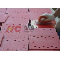 Red Grinded UPGM 203 Insulation Sheet With Rohs Reach High Compressive Strength Manufactures