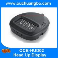 Ouchuangbo car smart gps HUD head up display vehicle speed real time out sleepy MPH Manufactures