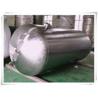 Customized Color Horizontal Air Receiver Tanks Carbon Steel / Stainless Steel Manufactures