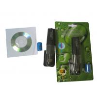 Portable LCD Digital Temperature Humidity Meter Thermometer With Usb Interface Manufactures